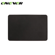 Onever 8*5 inch Universal Slim Silicon Car Anti-slip Pad Auto Sticky Phone Holder Non-slip Dashboard Mat Car Styling