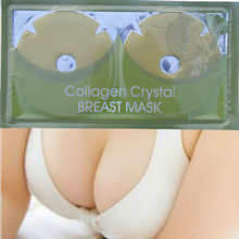 New 10 Pair Collagen Crystal Gold Breast Chest Masks Anti Ageing Skin Care Mask