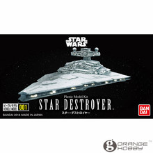 OHS Bandai SW Vehicle Model 001 Star Destroyer Assembly plastic Model Kits