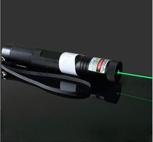 oxlasers OX-G301-1 special offer 100mW focusable green laser pointer flashlight FREE SHIPPING(China)