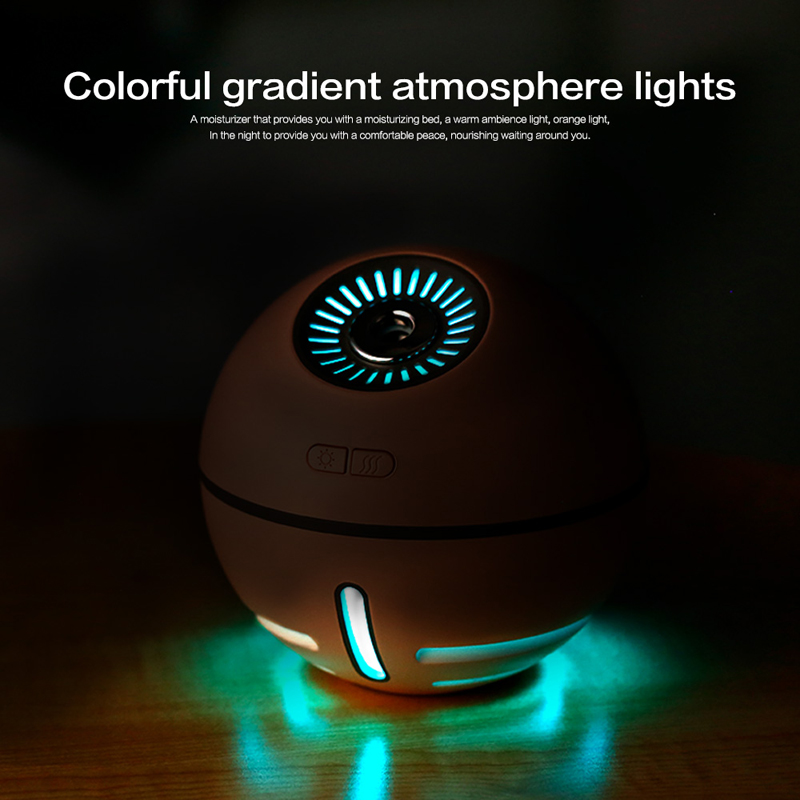 portable led air humidifier essential oil diffuser