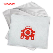 10Pcs/Lot For MIELE FJM C1 & C2 Synthetic Type Hoover Hepa Vacuum Cleaner DUST BAGS with Universal Filters
