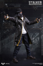 "1/6 scale figure doll NIGHTMARE STALKER game Watch Dogs Aiden Pearce Collectible model plastic toys 12"" action figure doll"