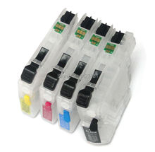 Newest permanent chip LC121 LC123 for brother MFC-J4410DW MFC-J4510DW MFC-J4610DW MFC-J4710DW inkjet printer cartridge(China)