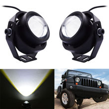 2pcs 10W LED High Power Integrated Cool Work Spotlight Van RV SUV Truck Car Boat Off Road 12V-24V IP65 Waterproof