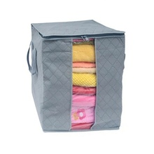 Portable Organizer Pouch Holder Blanket Pillow Underbed popular cool Storage Bag Box(China)