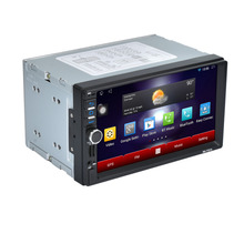"1PC 7"" 2Din Stereo Car Android MP5 Player Bluetooth Touch Radio AM/FM/RDS/GPS/USB/SD/Aux Car Accessories"