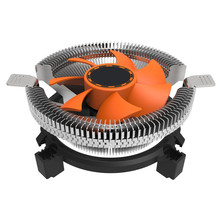 CPU Cooling Cooler Fan Heatsink 7 Blade For Intel LGA 775 1155 1156 AMD 754 AM2 Levert Dropship SZ0227(China)