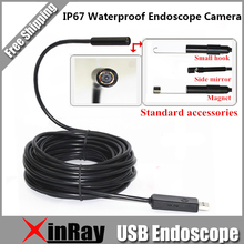 New Coming 6LED 5.5MM Dia Mini USB Endoscope Camera IC5B Support Windows PC and Android Phone IP67 Waterproof Inspection Camera