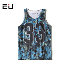 EU No.33 Basketball Jersey Men Printed Sleeveless Beach Shirts Women Quick Dry Breathable Men Retro College Basketball Jerseys(China)