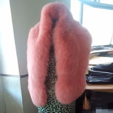 Besty long large fur shawl thick fur cape winter women warm fur pashmina fox the whole leather production(China)