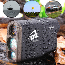 Buy 1000M Waterproof Golf Laser rangefinder Handheld Distance Meter Speed Range finders Flagpole Lock Function Monoculars for $114.81 in AliExpress store