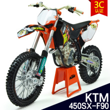 2015 fast shipping 1:12 Pull Back Acousto-optic Toys  motorcycle car Model KTM450