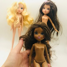 3 style Original New Monster Fashion Doll DIY Accessories For Bobby Doll head monster Doll girls(China)