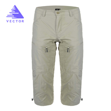 VECTOR Camping Hiking Pants Men Quick Dry Outdoor Pants Male Summer Mountain Trekking Hunting Climbing Trousers Shorts 50010(China)