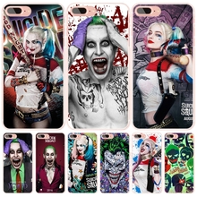 suicide squad Joker harley quinn Margot Robbie cell phone Cover case for iphone 6 4 4s 5 5s SE 5c 6 6s 7 plus case for iphone 7