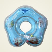 Cute Baby Kids Aid Infant Starfish Designed Swimming Neck Float Inflatable Tube Ring Bath Safety New 2017