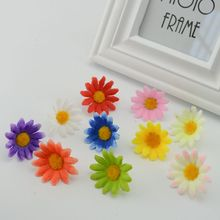30pcs free shipping simulation silk flower plastic flower small daisies Flowers lawn Flowers Sale