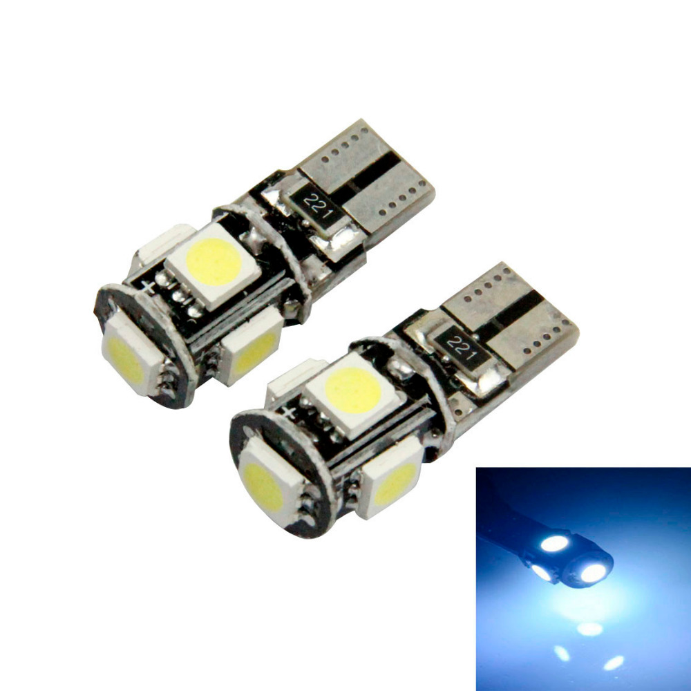 2016 New Hot 10 X Canbus Error Free White T10 5-SMD 5050 W5W 194 16 Interior LED Bulbs Free Shipping&amp;Wholesale<br><br>Aliexpress