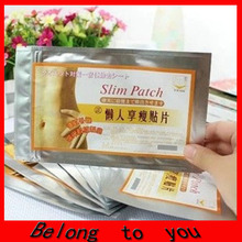 5000pcs/lot hot Slimming Navel Stick Slim Patch Weight Loss Burning Fat Patch Hot Sale! p( 1 bag = 10 pcs )(China)
