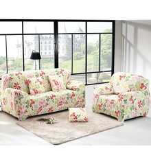 Cheap Sofa Slipcovers Leaf Sofa cover flexible Stretch Big Elasticity Couch cover sofa Funiture Cover flower Machine Washable