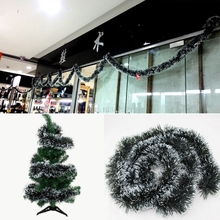 Christmas Decoration Xmas Tree Party Hanging Fancy Garland Ribbon String Hot Sale(China)
