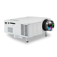 Original UNIC UC22 Portable LED LCD Projector With 1080P HDMI Speakers USB Projector For PC Home Theater XBOX