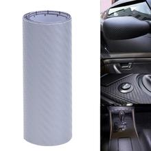 Buy 10x127cm 3D Carbon Fiber Vinyl Car Wrap Sheet Roll Film Car stickers Decals Motorcycle Car Styling Accessories Automobiles for $1.17 in AliExpress store