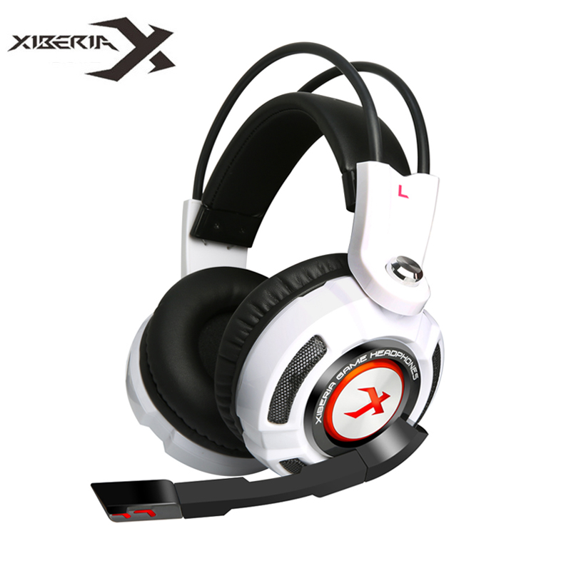 Gaming Earphone Headphones Xiberia K3 Virtual 7.1 Surround Sound Stereo Bass Game Headset with Mic/Vibration /LED for PC Gamer<br>