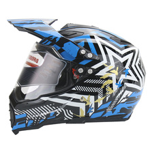 2016 High quality off-road racing motorcycle helmet motocross helmet with lens casco moto capacete DOT approved