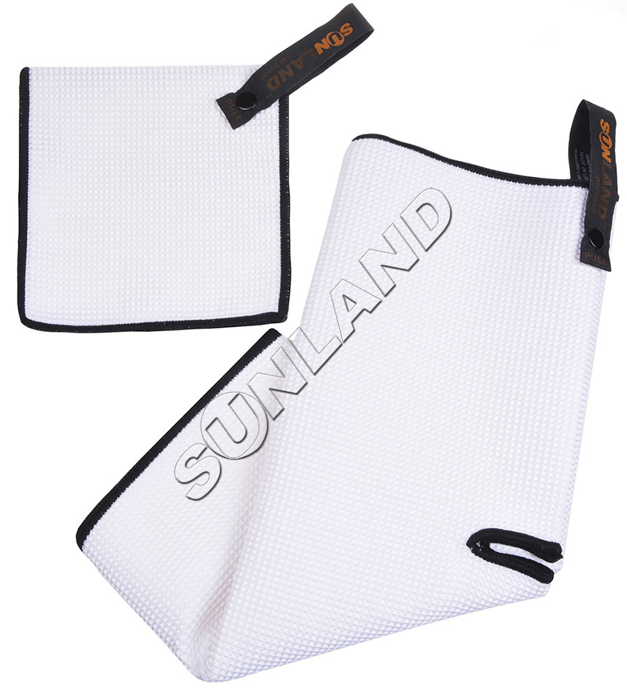 Sunland Microfiber Deep Waffle Weave Golf Towels with Free Golf Balls Towel(China (Mainland))