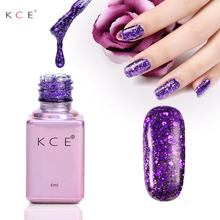 Buy 15 Colors 6ML Sequined Bling Nail Gel Polish UV Shining Colorful Long lasting soak Varnish Cheap Manicure Nail Gel for $1.21 in AliExpress store