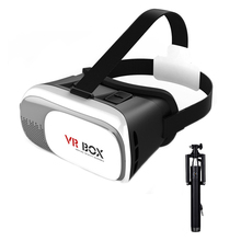 VR BOX ii 2 3D Glasses VRBOX Upgraded Version Virtual Reality 3D Video Glasses Support Android IOS Windows PC Phone Tablet