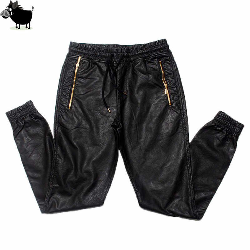 Man Si Tun New Kanye west Hip Hop big and tall Fashion zippers jogers Pant  Joggers 1388f6106f51