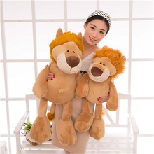 Fancytrader 75cm Cute Plush Soft Stuffed Giant the Lion King Toy, Nice Gift For Kids and Friends, Free Shipping FT50525