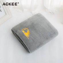 2016 New Arrivals Luxury Men Bath Towel Microfiber Super Soft Towel AOKEE Brand Home Terry Towel linge de toilette Free Shipping(China)