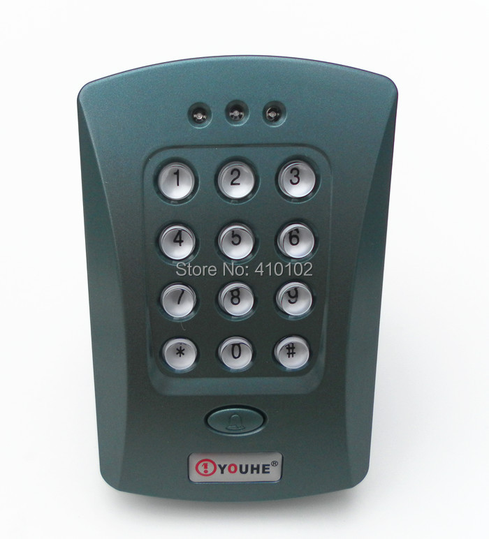 Single Door Entry Access Control Keypad And RFID Card Reader Access Control +1000 Users<br><br>Aliexpress