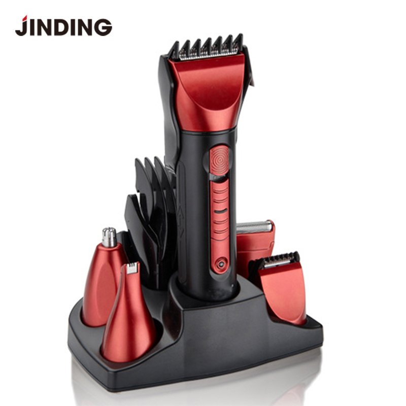New 5 In 1 Men Electric Hair Trimmer Beard Hair Clipper Rechargeable Washable Shaving Machine Tool For Men Haircut<br>