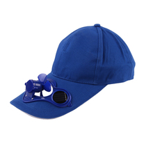 2017 New Hot Men Women Solar Power Sun Baseball Hats With Cooling Fan Summer Boys Girls Funny Caps Camping Traveling(China)