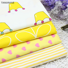 Cartoon King design 4PCS/lot cotton fabric 40cmx50cm home textile DIY sewing clothes bedding quilting patchwork telas fabrics(China)