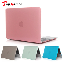 TopArmor New Hard Crystal Matte Translucent Case Cover for MacBook Air 11 A1465/ air 13 inch A1466 pro 13.3 15 A1278 retina 12