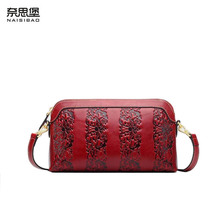 NAISIBAO women genuine leather bag fashion hot cowhide luxury handbags bags designer shoulder - Shop1048526 Store store