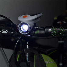 OUTERDO Waterproof IP64 Solar Bike Front Lamp USB Charge Bicycle Light 4 Modes Bike Lamp 360 Degree Rotation Cycling LEDs