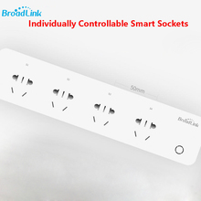 BroadLink MP1 individually controllable Socket Plug WiFi Power Remote Control 4-Outlet Power Socket Smart Home Automation System