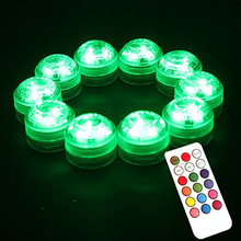 Wholesale Great 20pcs RGB color Centerpiece Decorative Vase Decor Long Lasting Batteries Submersible Mini LED Light for Crafts