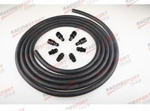 AN6 Push lock Racing Performance Automatic Transmission Cooler Line Kit POH-66442(China)