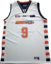 Custom Sublimation Printing Basketball Jersey
