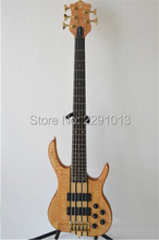 Best quality 5 strings bass Best smith bass guitar with good workmanship Free shipping(China)