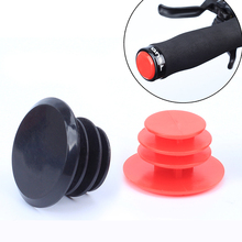 4pcs/lots MTB Road Bicycle Handlebar End Plugs Handlebar Caps Imported PVC Handle Grip Bar End Stoppers for 22 mm Handlebar Grip(China)