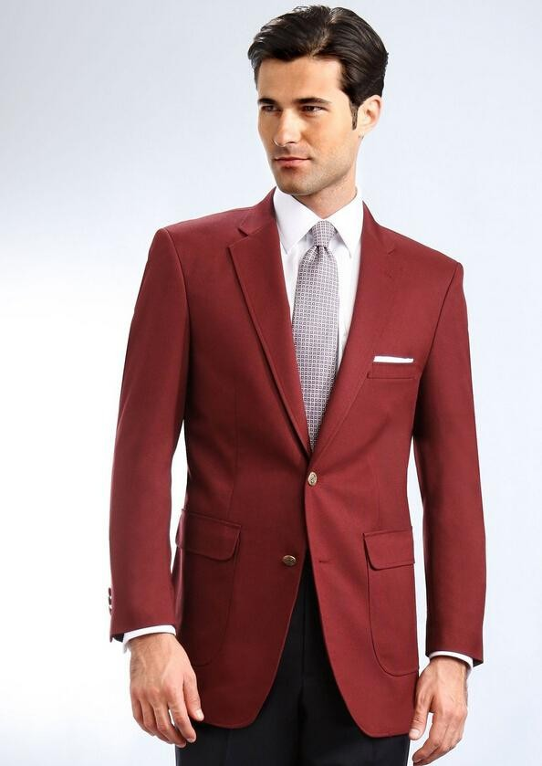 Top Selling Red men's suits the groom wear a suit formal occasio photogenic multiple colors can be customized (Jacket+Pants)